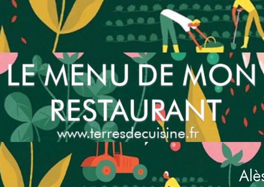 illustration menu cantine