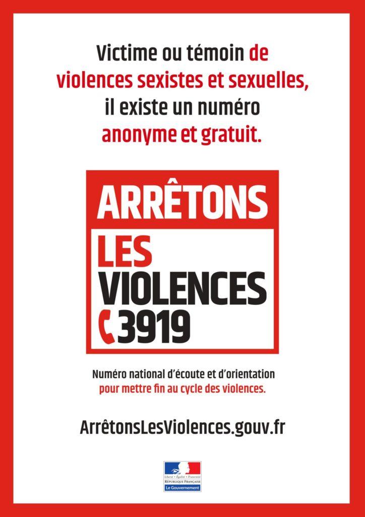 3919 : Arrêtons les violences - Ville d'Anduze