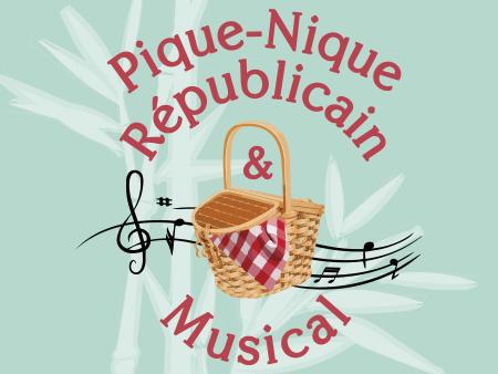 Illustration Pique-nique Républicain à Anduze le 14 juillet 2020