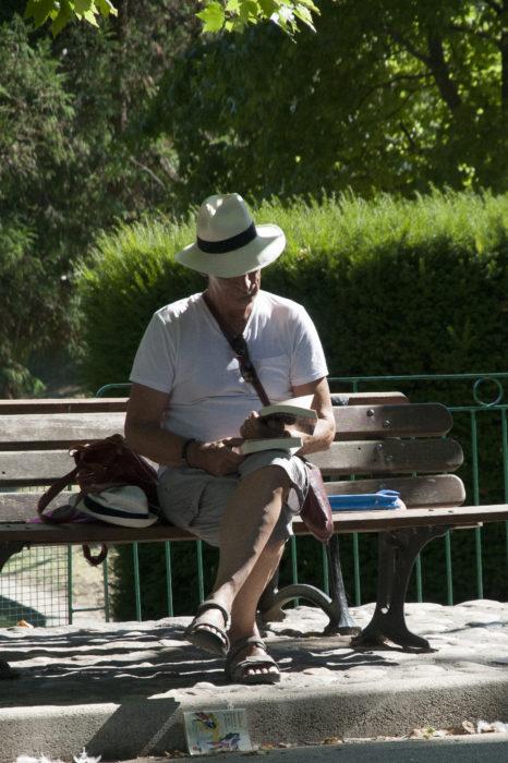 Envol de livres au Parc des Cordelier le 19 juillet 2020