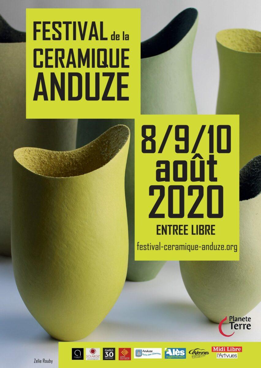 Affiche du 16 Festival de la Céramique à Anduze