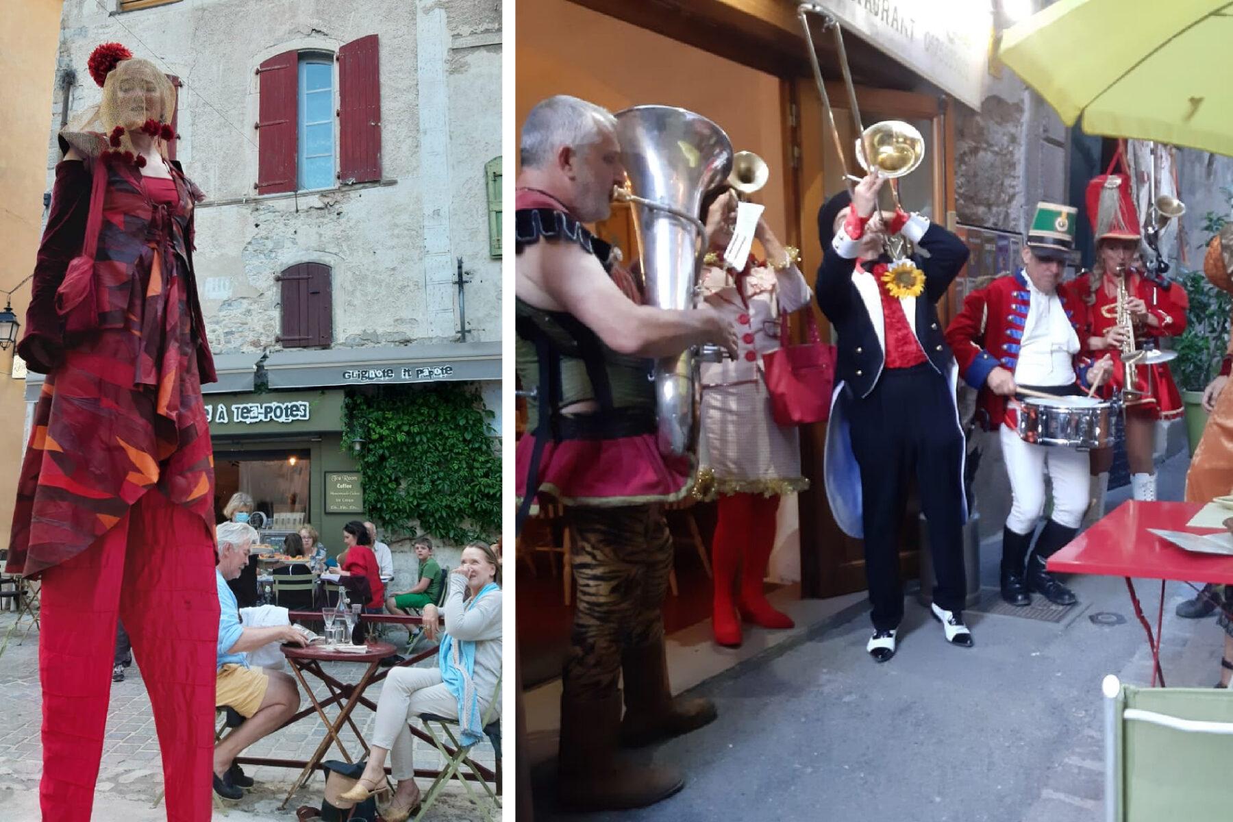 Tube de Cirque : parade circassienne - Fête de la Musique 2020 à Anduze