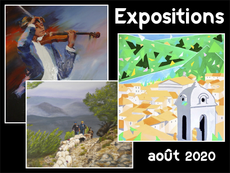 illustration expositions août 2020