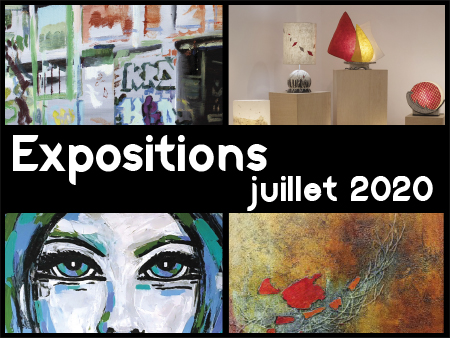 illustration expositions juillet 2020
