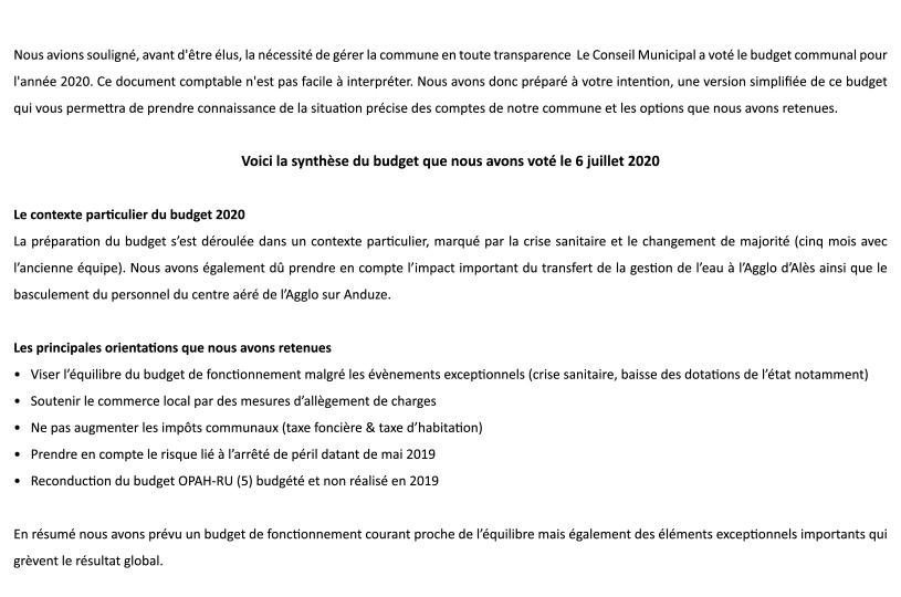 budget 2020 anduze p1