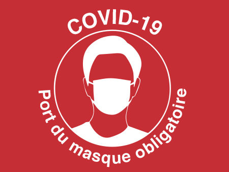 illustration covid 19 port du masque
