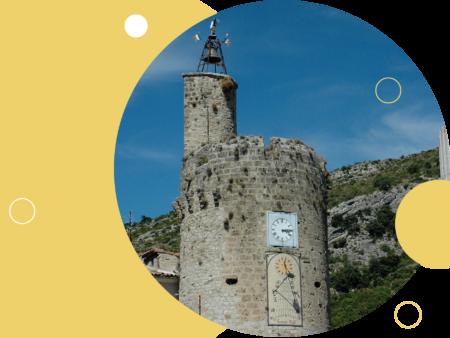 illustration les 700 ans de la Tour de l'Horloge