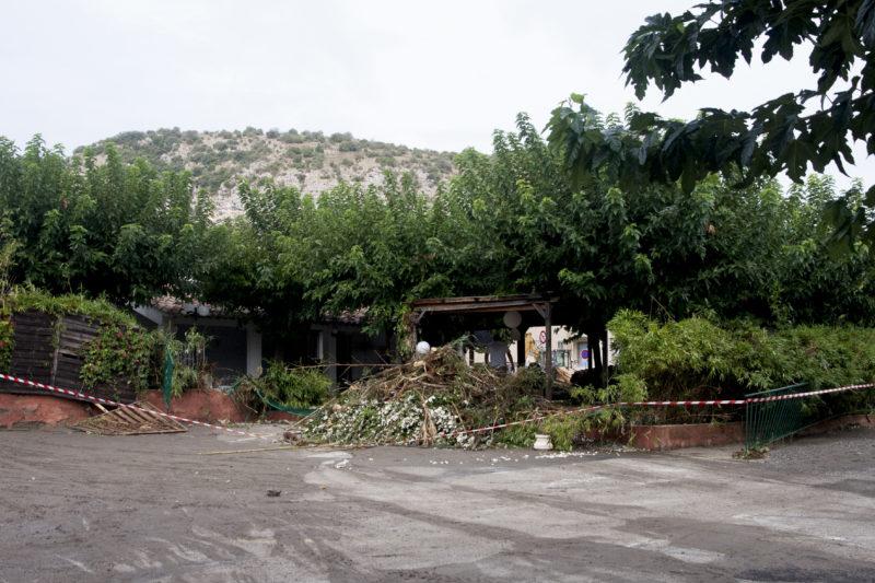 Crue du Gardon le lendemain le 20 sept. 2020