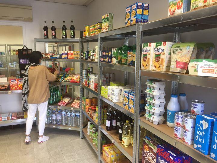 photo de la nouvelle épicerie d'Anduze