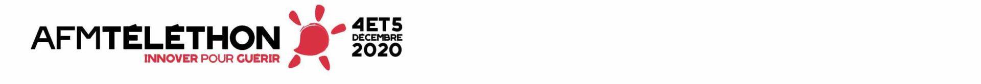 Téléthon 2020 titre et logo