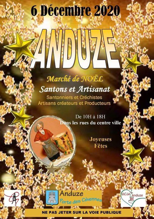 Affiche UCIA marché des santons