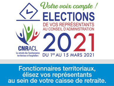 illustration Élection CNRACL 2021