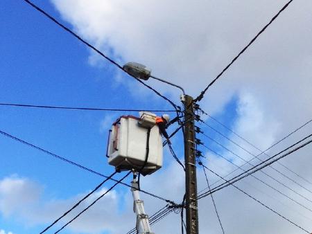 Illustration réseau électrique