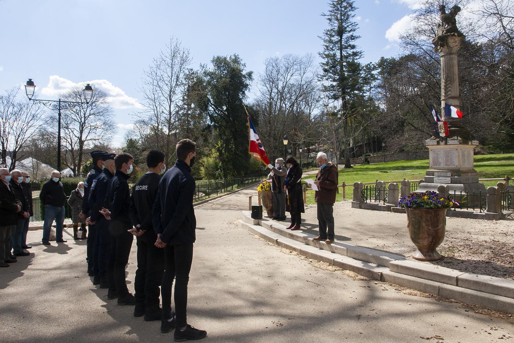 Commémoration du cessez-le-feu en Algérie du 19 mars 1962 : minute de silence