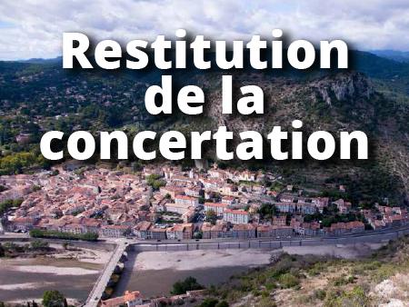 illustration conceration PLU - Restitution