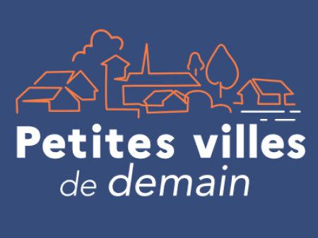 Logo Petites Villes de Demain - Dispositif de l'Agence Nationale de la Cohésion des Territoires