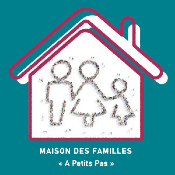 """logo Maison des Familles """"À Petits Pas"""""""