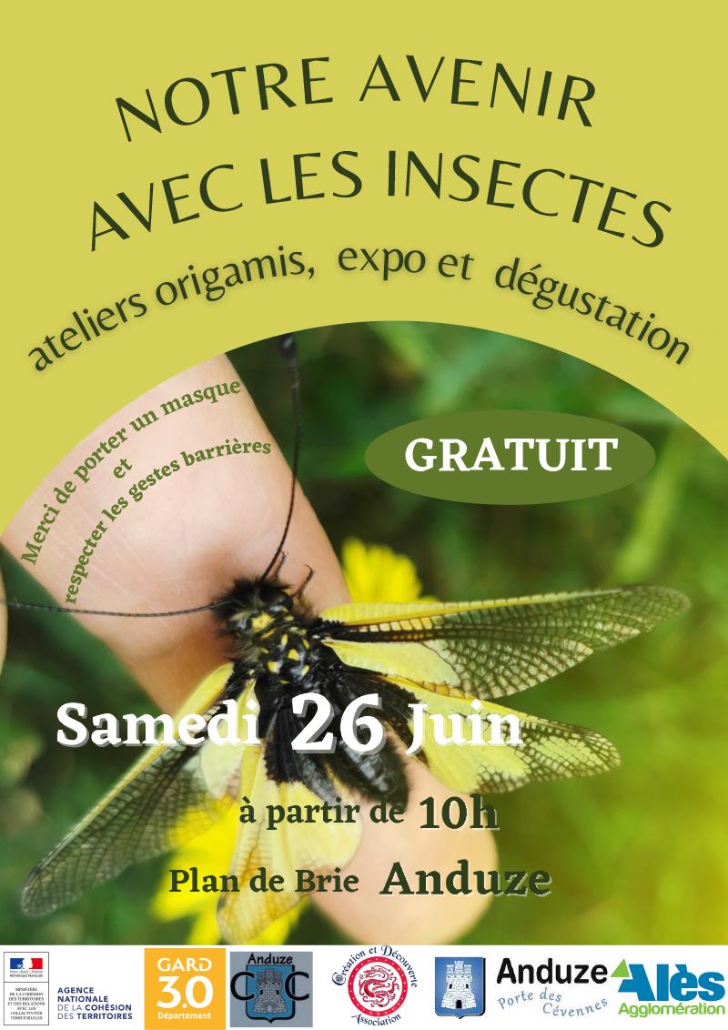 Affiche Notre avenir avec les insectes