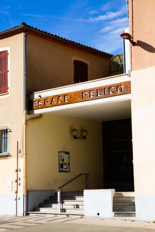 Photo de l'entrée de l'espace Pélico
