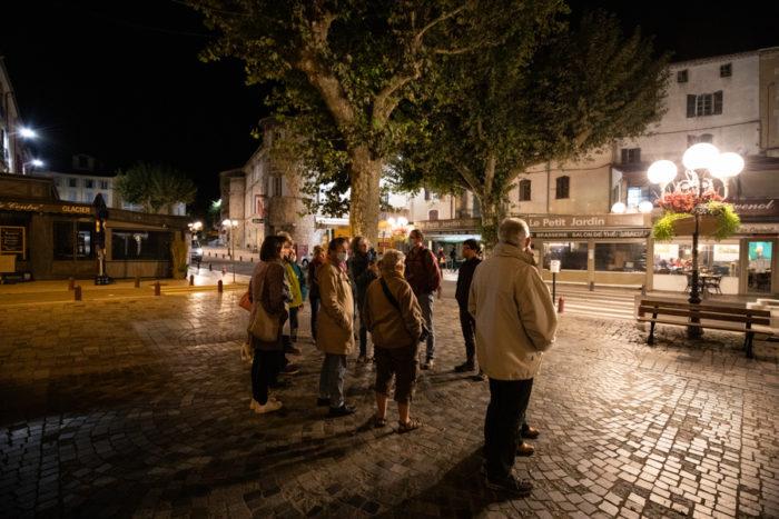 Photos de la visite de la ville avec le collectif Renoir - Samuel Challeat
