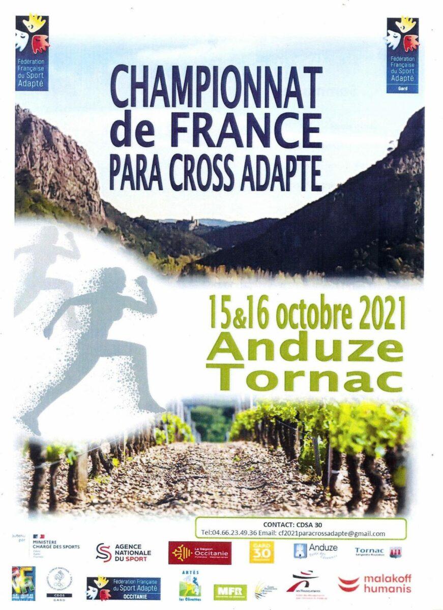 Championnat de para-cross adapté 2021